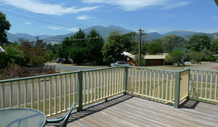 View to East from front deck